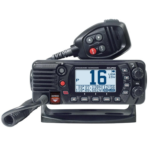 Standard Horizon GX1400G Fixed Mount VHF w-GPS - Black [GX1400GB]-Standard Horizon-Point Supplies Inc.