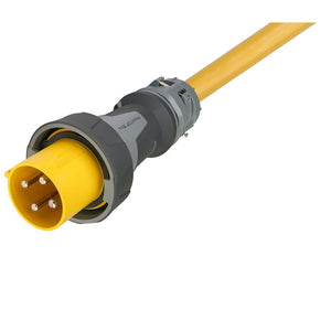 Marinco 100 Amp, 125/250V One-Ended Male Power Supply Cable - 100 [CW1004] - Point Supplies Inc.