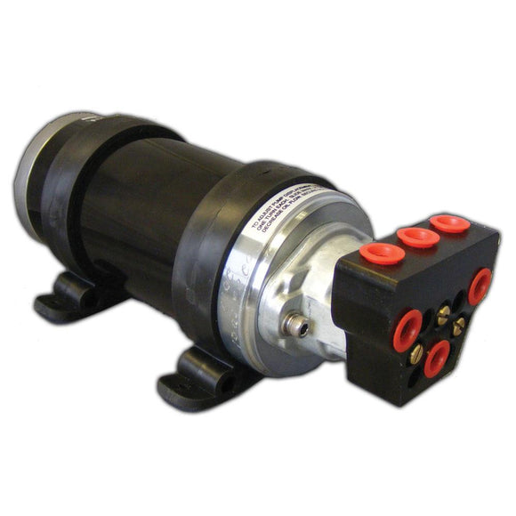 Octopus Autopilot Pump Type 1 Adjustable Reversing 12V Up To 18 CI Cylinder [OCTAF1012] - Point Supplies Inc.