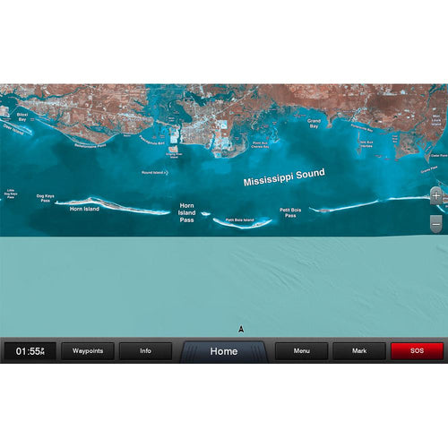 Garmin Standard Mapping - Mississippi Sound Classic microSD-SD Card [010-C1183-00]-Garmin-Point Supplies Inc.