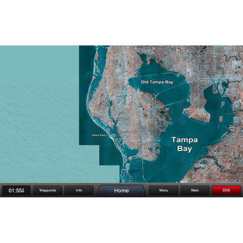 Garmin Standard Mapping - Florida West Pen Classic microSD-SD Card [010-C1201-00]-Garmin-Point Supplies Inc.