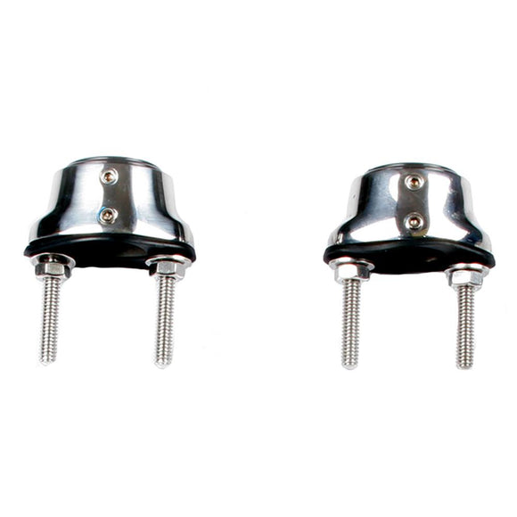 Edson Stainless Steel Pedestal Guard Mounting Feet - Pair [310ST-100-125] - Point Supplies Inc.