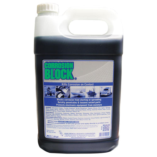 Corrosion Block Liquid 4-Liter Refill - Non-Hazmat, Non-Flammable  Non-Toxic *Case of 4* [20004CASE] - point-supplies.myshopify.com
