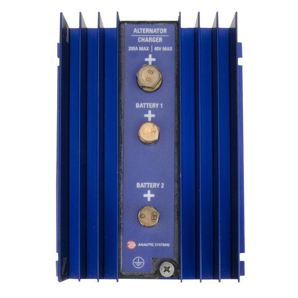 Analytic Systems 2-Bank Battery Isolator, 200A, 40V [IBI2-40-200] - Point Supplies Inc.