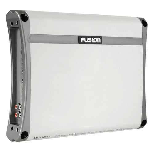 FUSION MS-AM402 2 Channel Marine Amplifier - 400W [010-01499-00] - point-supplies.myshopify.com