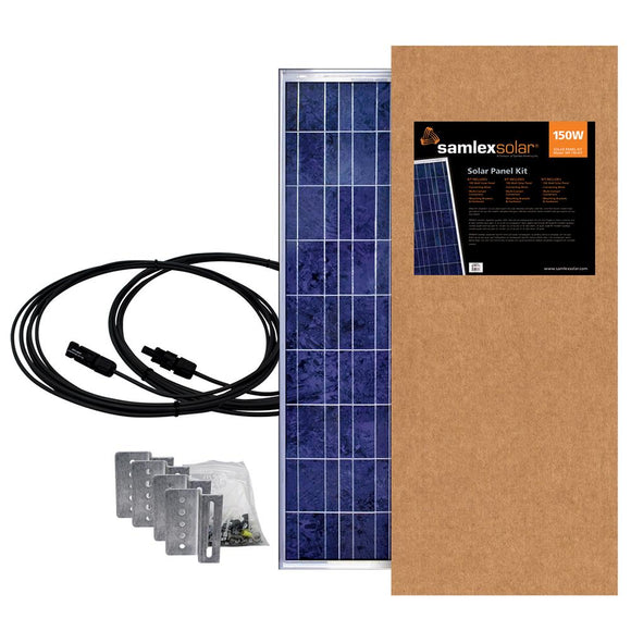 Samlex 150W Solar Panel Kit [SSP-150-KIT] - Point Supplies Inc.