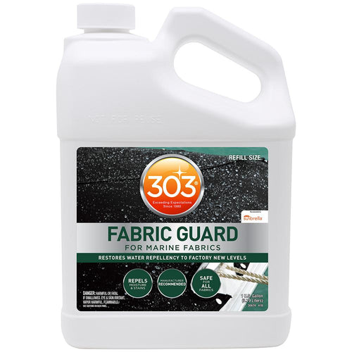 303 Marine Fabric Guard - 1 Gallon *Case of 4* [30674CASE]-303-Point Supplies Inc.