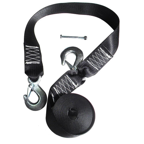 Rod Saver Winch Strap Replacement w-Safety Strap - 16 [WS16S]-Rod Saver-Point Supplies Inc.