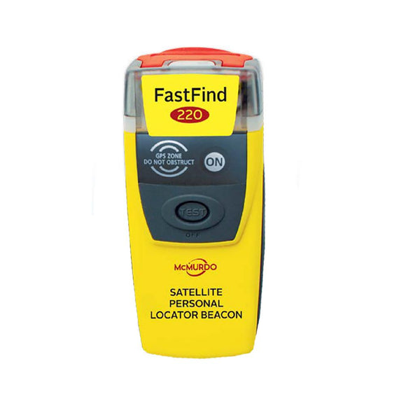 McMurdo FastFind 220 PLB - Personal Locator Beacon [91-001-220A-C] - Point Supplies Inc.