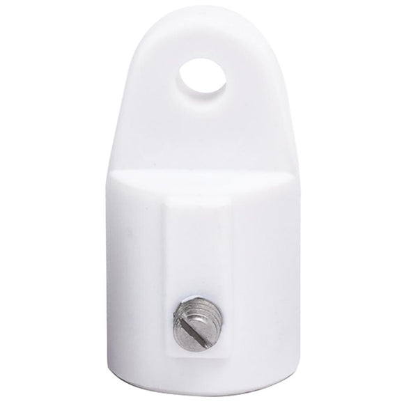 Sea-Dog Nylon Top Cap - White - 7/8