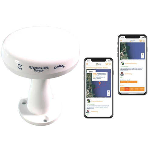 Glomex Wireless Zigbee GPS-Tracking Antenna f-Zigboat System [ZB211]-Glomex Marine Antennas-Point Supplies Inc.