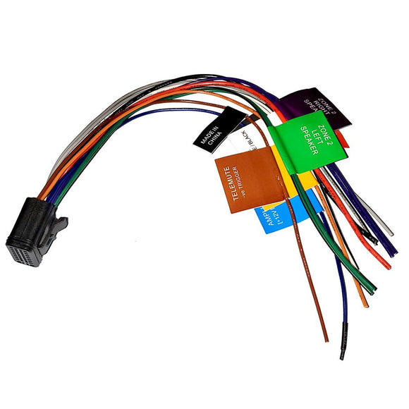 FUSION Power/Speaker Wire Harness f/MS-RA70 Stereo [S00-00522-10] - Point Supplies Inc.