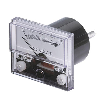 "Paneltronics Analog DC Ammeter 0-50DCA 2-1-2"" - No Shunt Required [289-002B]-Paneltronics-Point Supplies Inc."