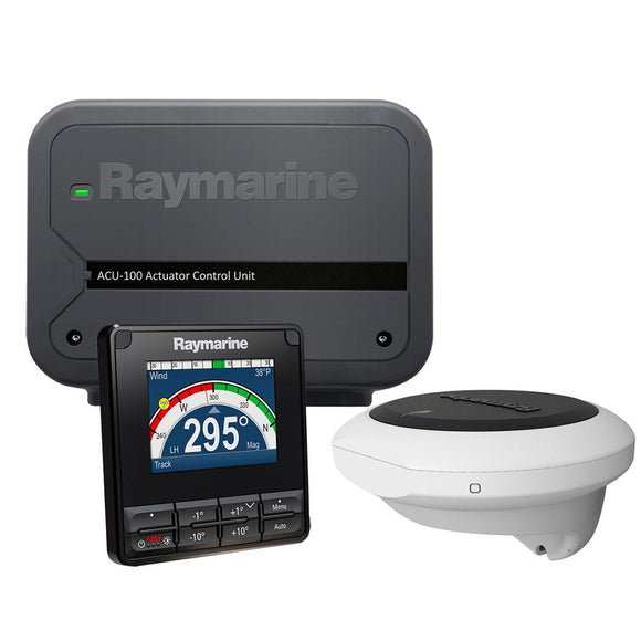 Raymarine EV-100 Wheel Pilot w/p70s Controller Corepack Only - No Drive Unit [T70281] - Point Supplies Inc.