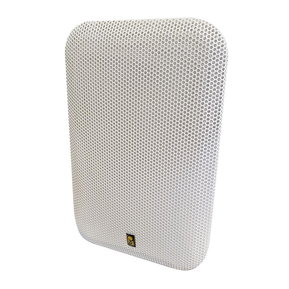 Poly-Planar White Grill Cover f/MA9060W Speakers [GR-9060W] - Point Supplies Inc.