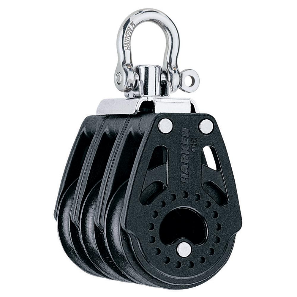 Harken 40mm Carbo Air Triple Swivel Block [2640]