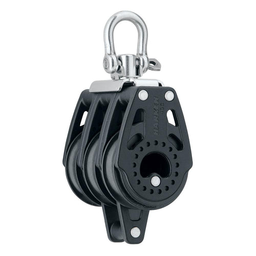 Harken 40mm Carbo Air Triple Swivel Block w-Becket [2641]