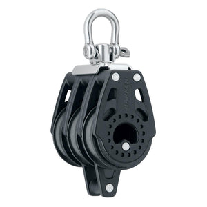 Harken 40mm Carbo Air Triple Swivel Block w-Becket [2641] - point-supplies.myshopify.com