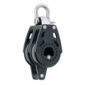 Harken 40mm Carbo Air Double Fixed Block w/Becket [2643] - Point Supplies Inc.