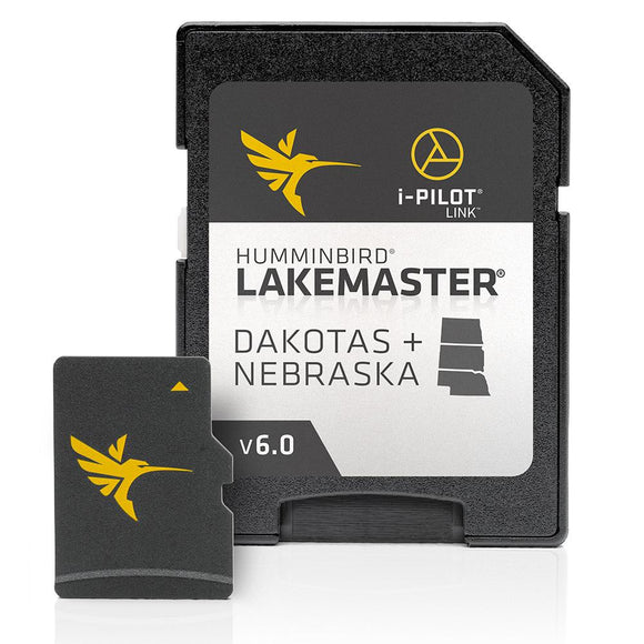 Humminbird LakeMaster - Dakotas + Nebraska - Version 6 [600013-5] - Point Supplies Inc.