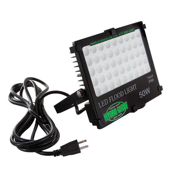 Hydro Glow FL50 50W/120VAC Flood Light - White [FL50W] - Point Supplies Inc.