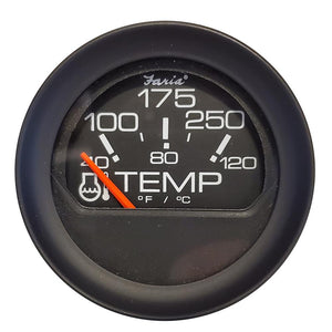 "Faria 2"" Water Temperature Gauge (100-200F) [GP0649] - Point Supplies Inc."