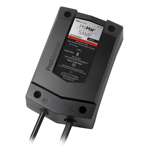 ProMariner ProMar1 DS Digital - 5 Amp - 1 Bank Charger [31505] - Point Supplies Inc.