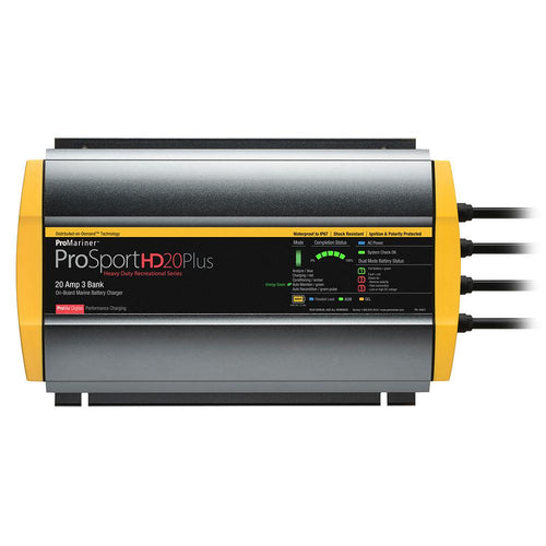 ProMariner ProSportHD 20 Plus Gen 4 - 20 Amp - 3 Bank Battery Charger [44021] ProMariner Point Supplies Inc.
