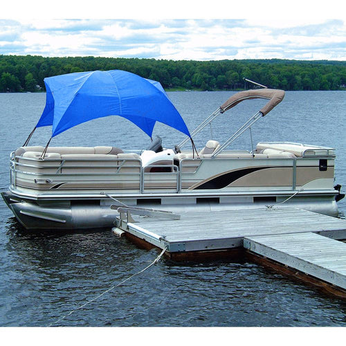 Taylor Made Pontoon Gazebo -Pacific Blue [12003OB] - point-supplies.myshopify.com
