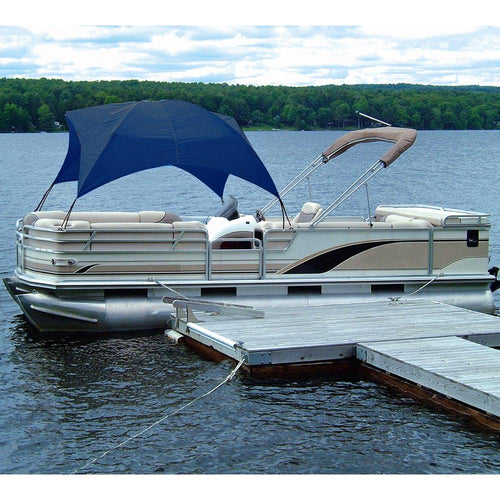 Taylor Made Pontoon Gazebo -Navy [12003ON] - point-supplies.myshopify.com