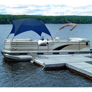 Taylor Made Pontoon Gazebo -Navy [12003ON] - Point Supplies Inc.
