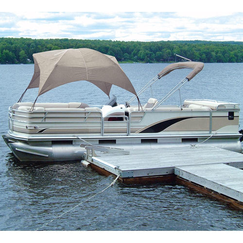 Taylor Made Pontoon Gazebo - Sand [12003OS] - point-supplies.myshopify.com