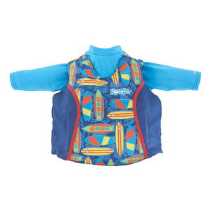 Puddle Jumper Kids 2-in-1 Life Jacket  Rash Guard - Surfboards - 33-55lbs [2000033186] - Point Supplies Inc.