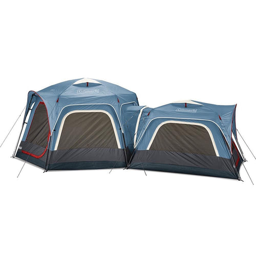 Coleman 3-Person  6-Person Connectable Tent Bundle w-Fast Pitch Setup - Set of 2 - Blue [2000033782] Coleman Point Supplies Inc.