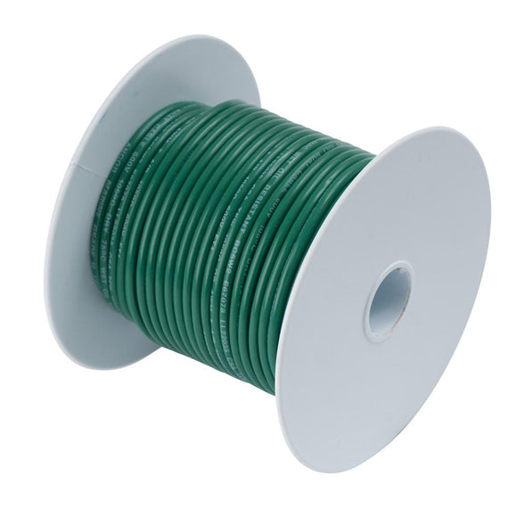 Ancor Tinned Copper Wire - 6 AWG - Green - 25 [112302] - Point Supplies Inc.