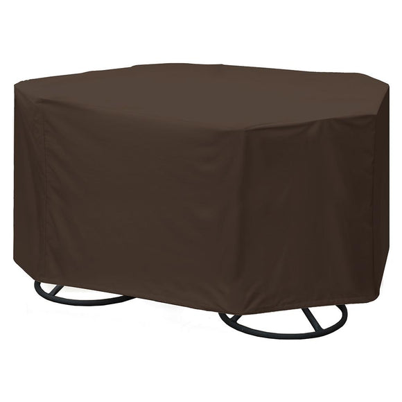 True Guard 4-Chair 600 Denier Rip Stop Patio Dining Set Cover [100538806] - Point Supplies Inc.