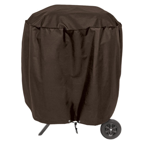 True Guard Kettle-Smoker Style 600 Denier Rip Stop Grill Cover [100538851] - point-supplies.myshopify.com