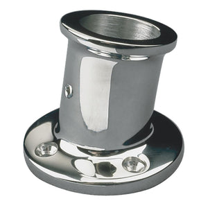 "Sea-Dog Stainless Steel Flag Pole Socket - 1"" [491912-1] - Point Supplies Inc."