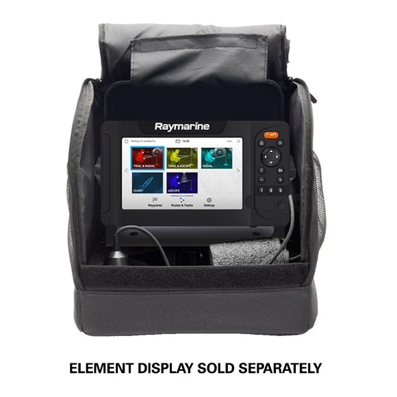Raymarine Portable Ice Fishing Kit f/Element 7 HV Series - Unit Not Included [A80581] - Point Supplies Inc.