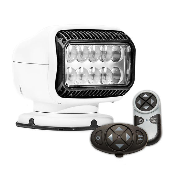Golight Radioray GT Series Permanent Mount - White LED - Wireless Handheld  Wireless Dash Mount Remotes [20074GT] - Point Supplies Inc.
