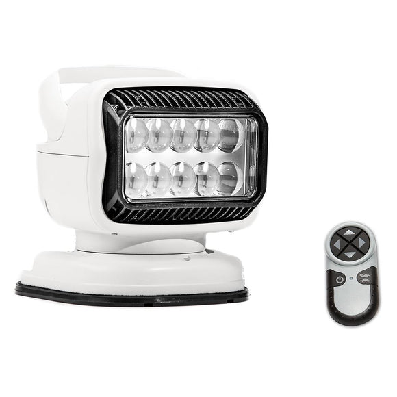 Golight Radioray GT Series Portable Mount - White LED - Handheld Remote Magnetic Shoe Mount [79014GT] - Point Supplies Inc.
