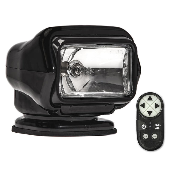 Golight Stryker ST Series Portable Magnetic Base Black Halogen w/Wireless Handheld Remote [30512ST] - Point Supplies Inc.