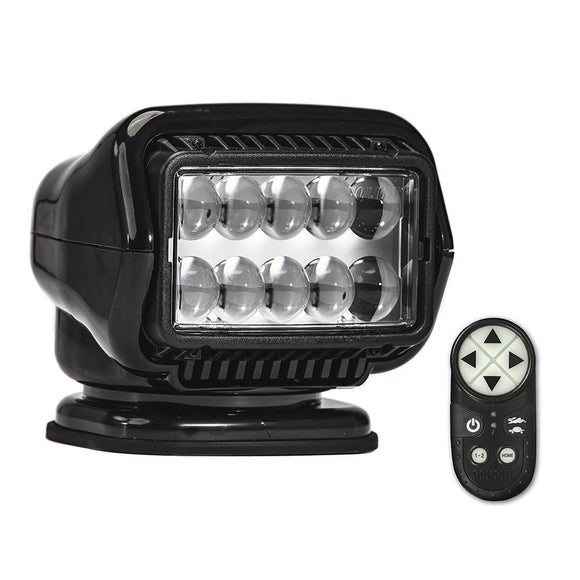 Golight Stryker ST Series Portable Magnetic Base Black LED w/Wireless Handheld Remote [30515ST] - Point Supplies Inc.