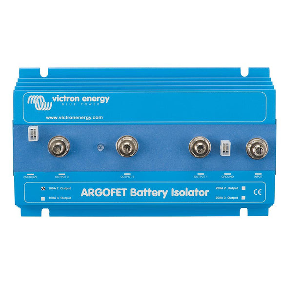 Victron Argo FET Battery Isolator - 100AMP - 2 Batteries [ARG100201020] - point-supplies.myshopify.com