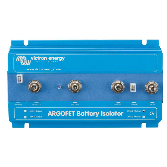 Victron Argo FET Battery Isolator - 200AMP - 2 Batteries [ARG200201020R] - point-supplies.myshopify.com