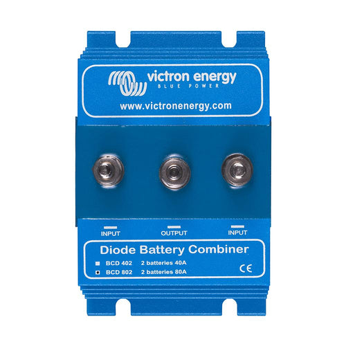 Victron Argo Diode Battery Combiner - 80AMP - 2 Batteries [BCD000802000] - point-supplies.myshopify.com