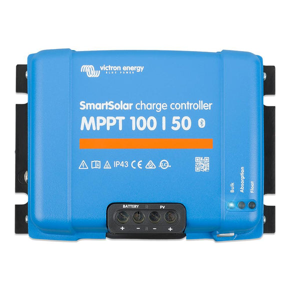 Victron SmartSolar MPPT Charge Controller - 100V - 50AMP [SCC110050210] - point-supplies.myshopify.com