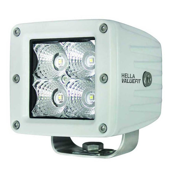 Hella Marine Value Fit LED 4 Cube Flood Light - White [357204041] - Point Supplies Inc.