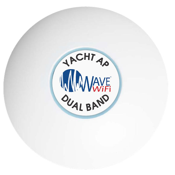 Wave WiFi Yacht AP Dual Band 2.4GHz + 5GHz [YACHT-AP-DB] - point-supplies.myshopify.com