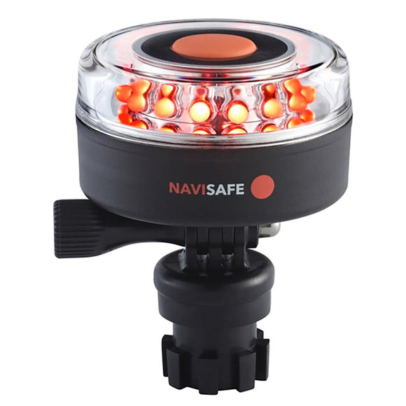 Navisafe Navilight All-Red 5 Mode 360 2NM w/Navimount Base [045-1] - Point Supplies Inc.